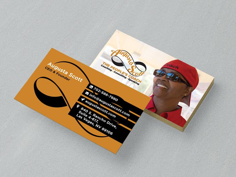 Beautiful Motivational Speaker Business Cards Photos - Business ...